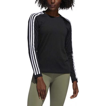 Dámské sportovní tričko - adidas 3 STRIPES LONGSLEEVE - 3