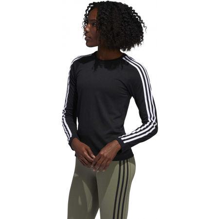 Dámské sportovní tričko - adidas 3 STRIPES LONGSLEEVE - 5