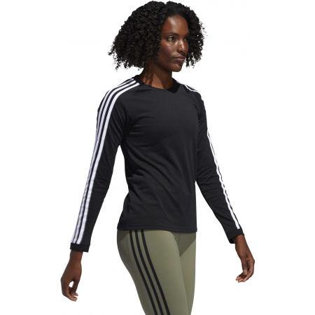 Dámské sportovní tričko - adidas 3 STRIPES LONGSLEEVE - 6