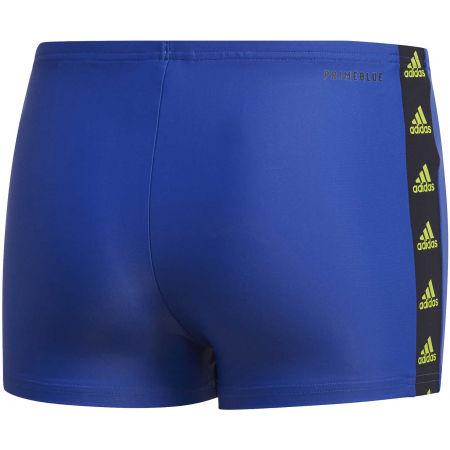 Chlapecké plavky - adidas YOUTH BOYS TAPE SWIM BOXER - 2