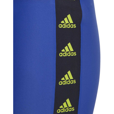 Chlapecké plavky - adidas YOUTH BOYS TAPE SWIM BOXER - 4