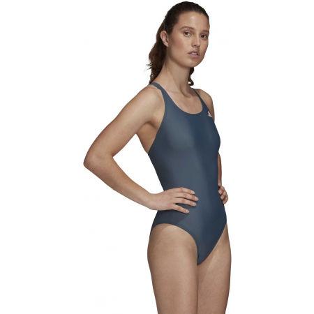 Dámské jednodílné plavky - adidas ATHLY V SOLID SWIMSUIT - 6