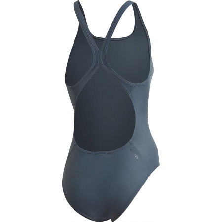 Dámské jednodílné plavky - adidas ATHLY V SOLID SWIMSUIT - 2