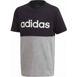 adidas YOUNG BOYS LINEAR COLORBOCK T-SHIRT - Chlapecké triko