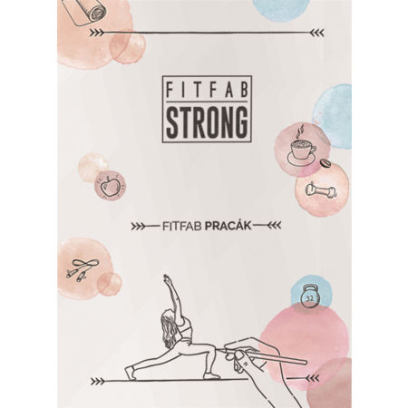 Fitfab Strong FITFAB PRACÁK - Pracovní sešit