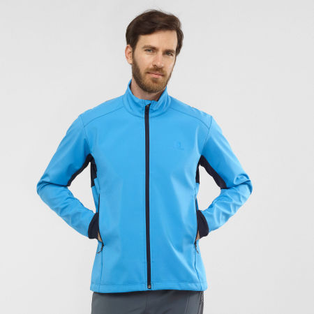 Pánská bunda - Salomon AGILE SOFTSHELL JACKET M - 2