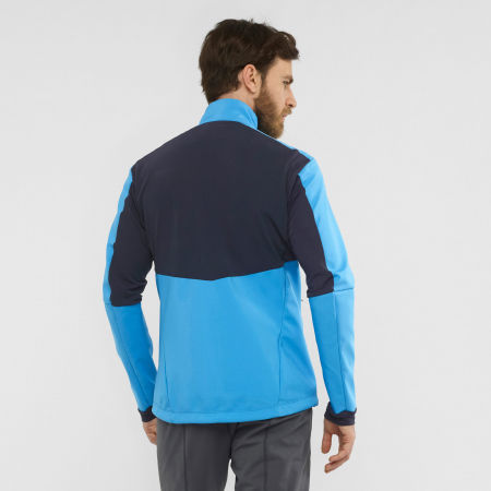 Pánská bunda - Salomon AGILE SOFTSHELL JACKET M - 3