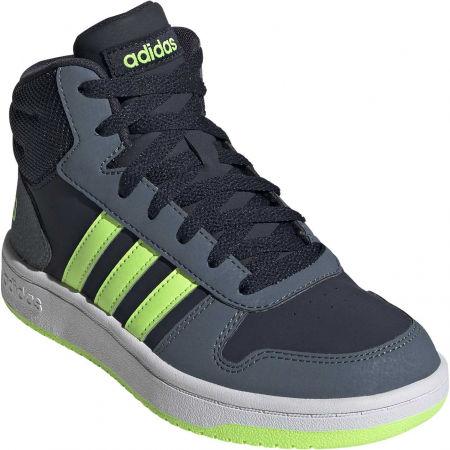 adidas HOOPS MID 2.0 K - Dětské volnočasové tenisky
