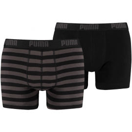 Puma STRIPE 1515 BOXER 2P - Pánské boxerky