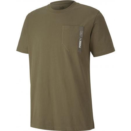 Pánské triko - Puma NU-TILITY POCKET TEE - 1