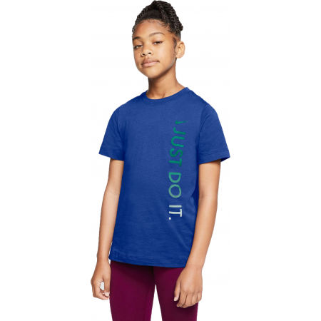 Dětské tričko - Nike NSW TEE JDI VERTICAL U - 1