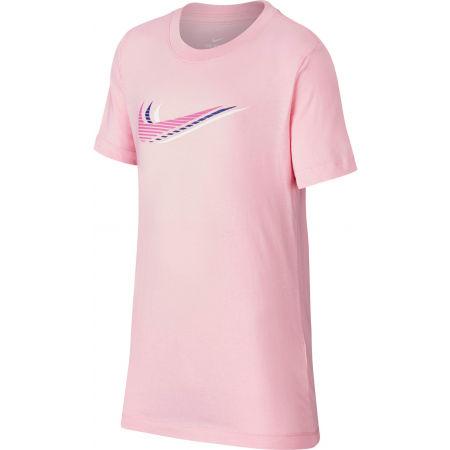 Nike NSW TEE TRIPLE SWOOSH U - Dětské tričko