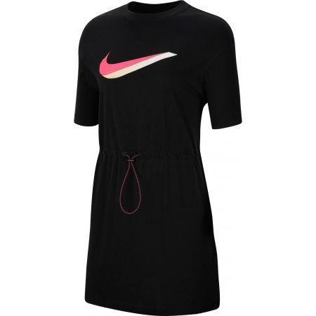 Nike NSW ICN CLSH DRESS SS W - Dámské šaty