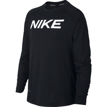 Nike NP LS FTTD TOP B - Chlapecký tréninkový top