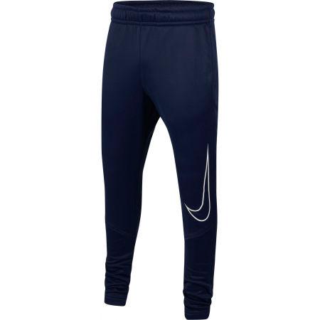 Nike THERMA GFX TAPR PANT B - Chlapecké tréninkové kalhoty