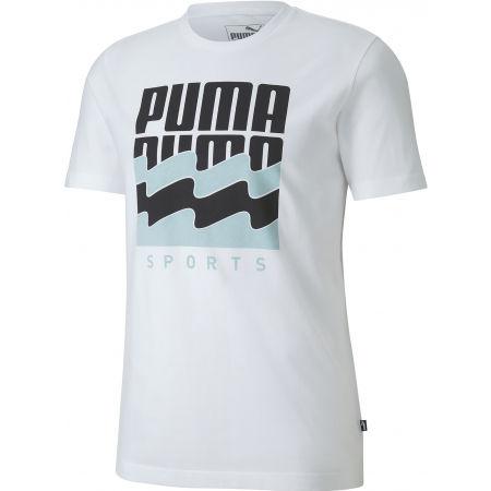 Pánské sportovní triko - Puma SUMMER GRAPHIC TEE - 1