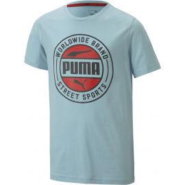 Puma ALPHA SUMMER TEE - Chlapecké sportovní triko