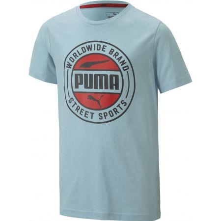 Chlapecké sportovní triko - Puma ALPHA SUMMER TEE - 1