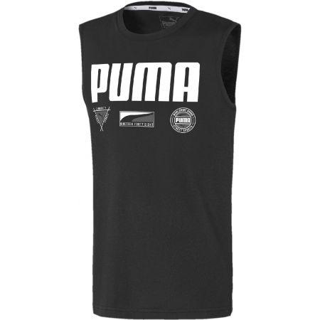 Chlapecký sportovní nátělník - Puma ALPHA SUMMER SVEELESS TEE B