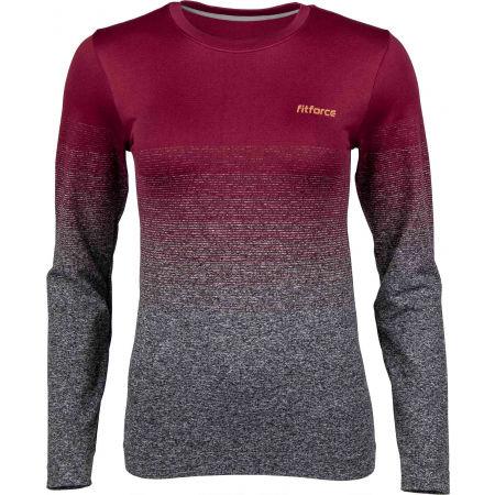 Dámské fitness triko - Fitforce RENNEL - 1