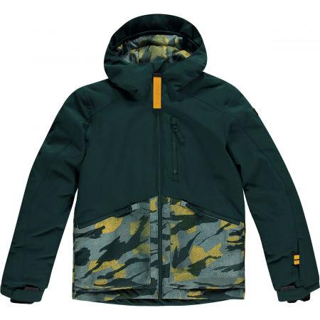 O'Neill PB TEXTURE JACKET - Chlapecká lyžařská/snowboardová bunda