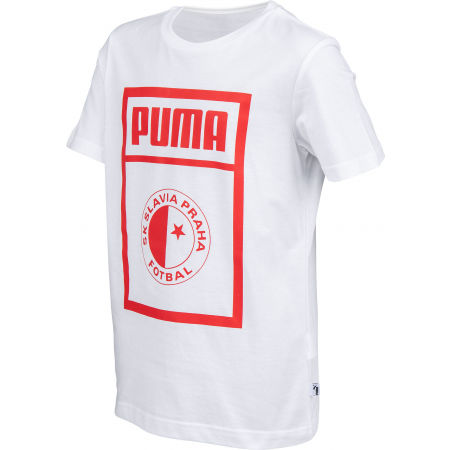 Juniorské triko - Puma SLAVIA PRAGUE GRAPHIC TEE JR - 2
