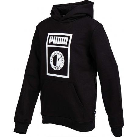 Juniorská mikina - Puma SLAVIA PRAGUE GRAPHIC TEE JR - 2