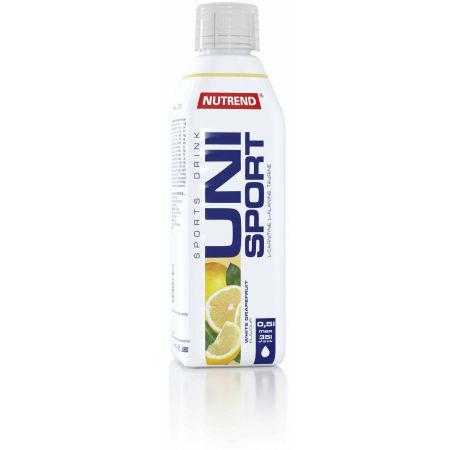 Nutrend UNISPORT 0,5L BÍLÝ GREP - Sportovní nápoj