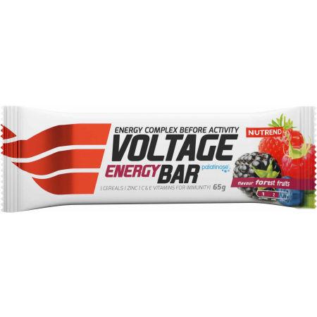 Nutrend VOLTAGE ENERGY LESNÍ PLODY 65g - Energetická tyčinka