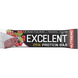 Nutrend EXCELENT ČERNÝ RYBÍZ 85g - Proteinová tyčinka