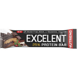 Nutrend EXCELENT NUGAT 85g - Proteinová tyčinka