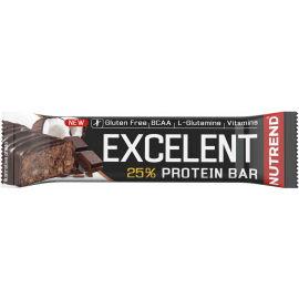 Nutrend EXCELENT PROTEIN ČOKOLÁDA+KOKOS 85g - Proteinová tyčinka