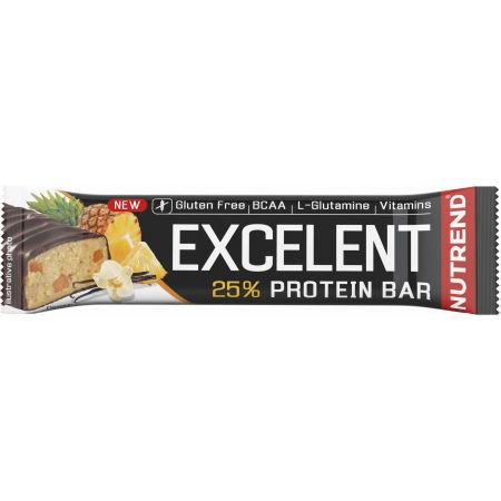 Proteinová tyčinka - Nutrend EXCELENT VANILKA+ANANAS 85g
