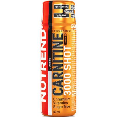 Nutrend CARNITINE 3000 SHOT POMERANČ - L -carnitine