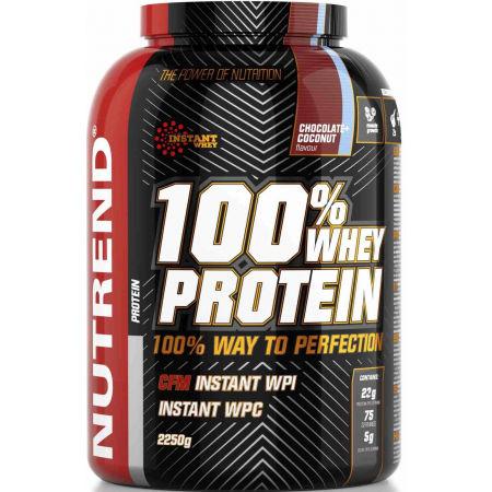Protein - Nutrend 100% WHEY PROTEIN 2250G ČOKOLÁDA + KOKOS