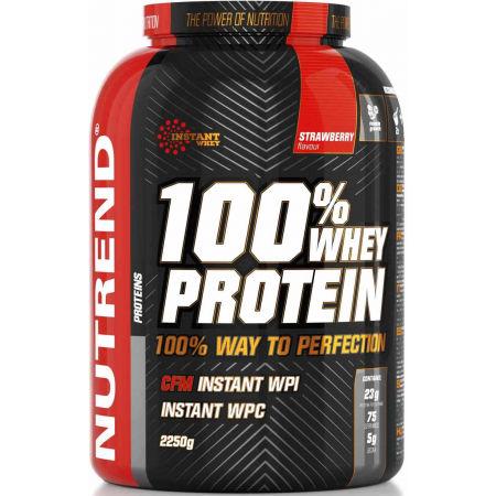 Nutrend 100% WHEY PROTEIN 2250G JAHODA - Protein