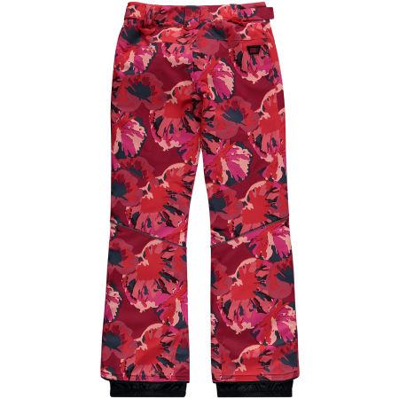 Dívčí lyžařské/snowboardové kalhoty - O'Neill PG CHARM AOP PANTS - 2