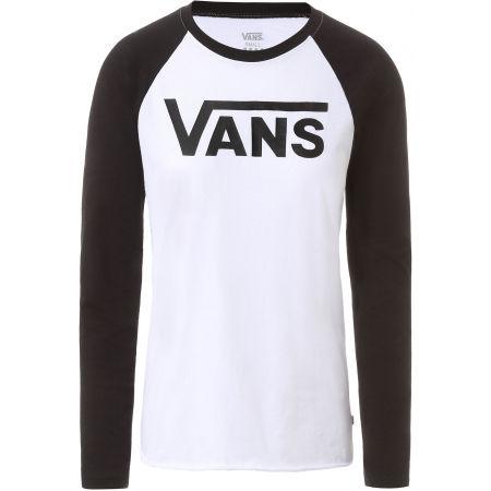 Vans WM FLYING V LS RAGLAN - Dámské tričko s dlouhým rukávem
