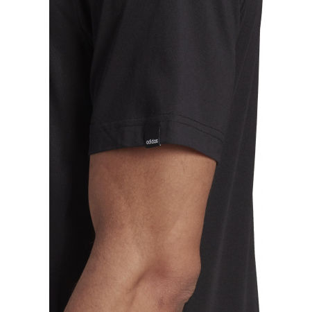Pánské tričko - adidas HYPERREAL VERTICAL LOGO TEE - 9