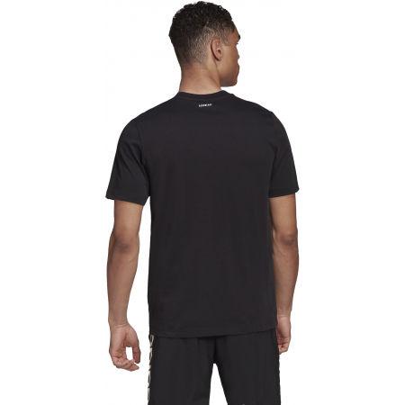 Pánské tričko - adidas HYPERREAL VERTICAL LOGO TEE - 7