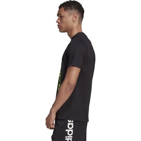 Pánské tričko - adidas HYPERREAL VERTICAL LOGO TEE - 6