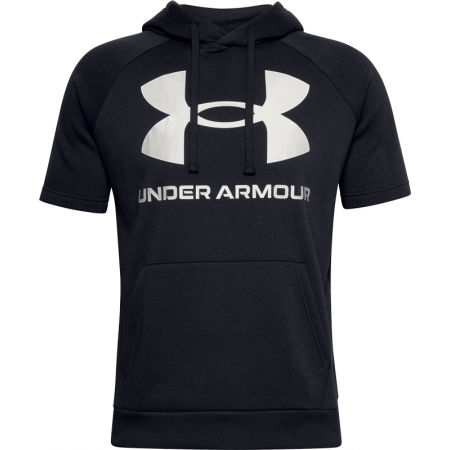 Under Armour RIVAL FLEECE BIG LOGO SS - Pánské triko