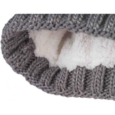 Dívčí pletená čepice - Lewro CHIA - 3