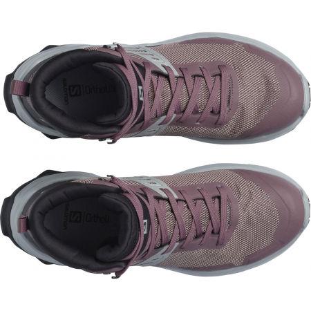 Dámská turistická obuv - Salomon X RAISE MID GTX W - 3