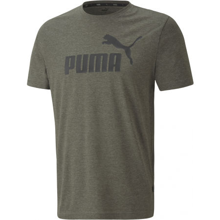Puma ESS+ HEATHER TEE - Pánské triko