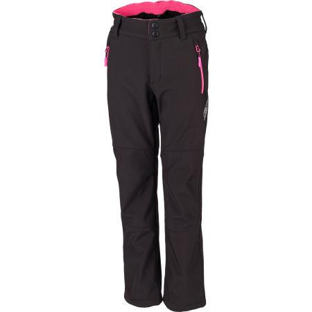 Dívčí softshellové kalhoty - Lewro ORES - 1