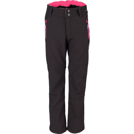 Dívčí softshellové kalhoty - Lewro ORES - 2