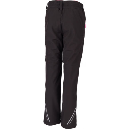 Dívčí softshellové kalhoty - Lewro ORES - 3