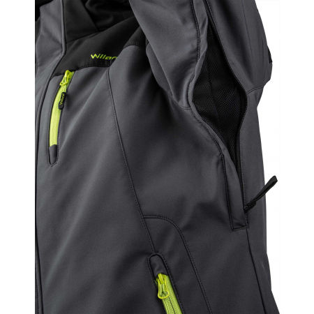 Pánská softshellová lyžařská bunda - Willard ROC - 6