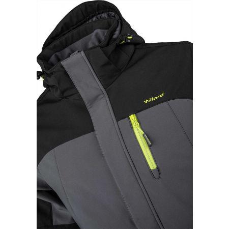 Pánská softshellová lyžařská bunda - Willard ROC - 4